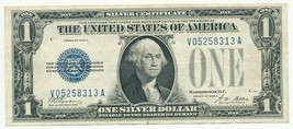 1928-A ONE DOLLAR SILVER CERTIFICATE $1 FUNNY BACK-LIGHTLY CIRCULATED-FR... - $39.95
