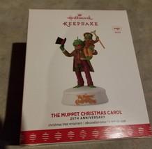 The Muppet Christmas Carol 2017 25th Anniversary Hallmark Ornament - $60.00