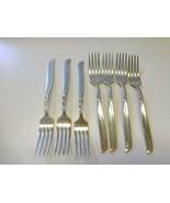 "7 SOUTH SEAS Community Silverplate Dinner Fork  7 1/2"" Art Deco - $29.69"
