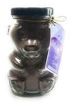 Huckleberry Havens Milk Chocolate Cocoa Mix in a Glass Bear Jar 6.5 Ounc... - $16.32