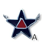 Star Enemel Silver Necklace S2 - $39.00