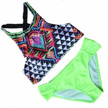 Womens Halter Geometric Print Bikini Set - $23.08