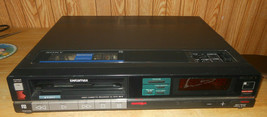 SONY SL-3030 Beta Betamax VCR Works Heads Dirty AS-IS For Parts & Repair  - $78.38