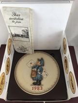 "Hummel Annual Plate 1983  ""POSTMAN"" - $11.30"