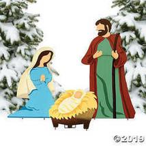 OTC Nativity Scene Christmas Metal Yard Decor - $68.24