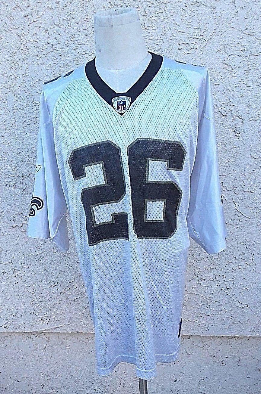 Deuce McAllister New Orleans Saints Jersey Size 2XL Reebok NFL # 26