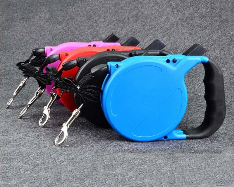 Retractable dog pet leash up to 80 lbs 26  feet rope usa shipper