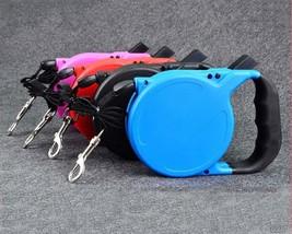 Retractable dog pet leash up to 80 lbs 26  feet rope usa shipper thumb200