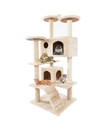 "52"" Cat Climbing Tree Tower Toy Play House Condo For Cats - $90.00"