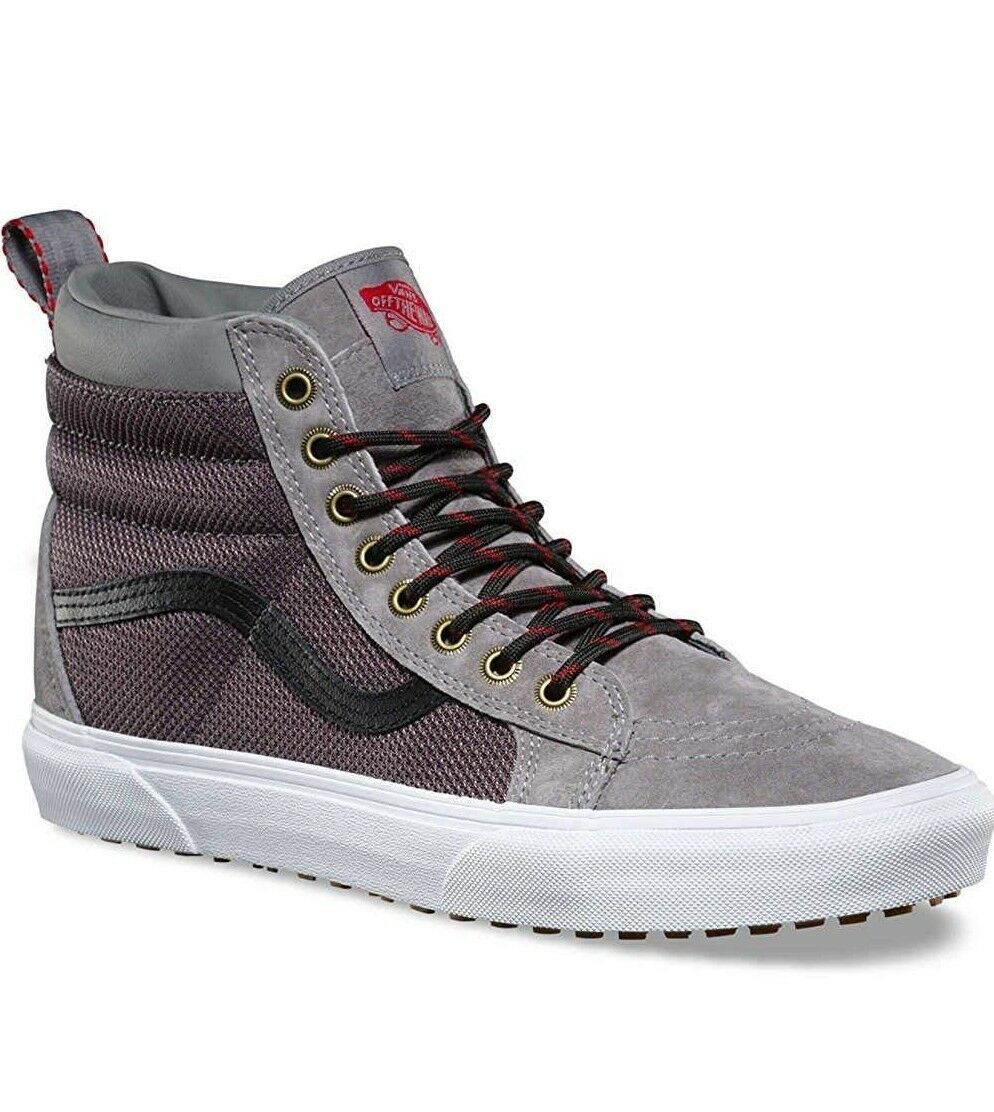 23c15f9dda 57. 57. Previous. Vans Sk8 Hi MTE Frost Gray Ballistic Skate Shoes Mens Size  7.5