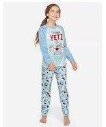 Justice Girl's Size 14-16 I'M YETI FOR PRESENTS Pajamas - $29.69