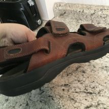 EARTH SPIRIT sun II MENS BROWN FISHERMEN SPORTS Leather Sandals 11 image 7