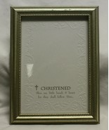 Metal Frame with Embossed Paper Insert for Mounting Picture - $9.89