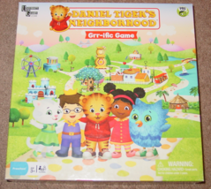 DANIEL TIGERS NEIGHBORHOOD GRR IFIC GAME 2013 UNIVERSITY GAMES PBS KIDS ... - $20.00