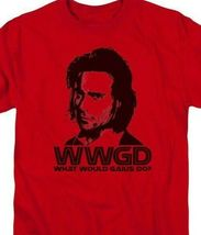 Battlestar Galactica WWGD Sci-Fi TV series graphic red adult t-shirt BSG220 image 3
