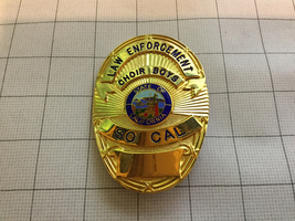 California SO CAL Law Enforcement Police Motorcycle Club Badge Choir Boys - $150.00