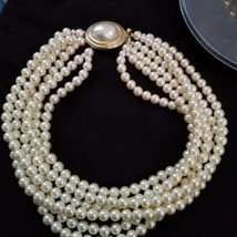 Are you 'the Girl With An Old Soul' ? Vint Pearls by Carolee 6 STRAND & ... - $187.00