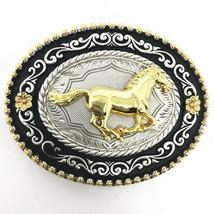 Texas West Cowboy/Cowgirl Texas Premium Round Buckle Head In Multi Symbol - $15.99