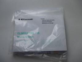 2001 Kawasaki Eliminator 125 Original Owners Manual Book - $35.89