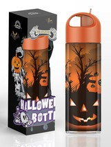 SimpleHH Halloween Collection Tritan Bottle with Flip Cap and Straw, 12.... - $7.99