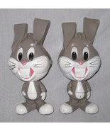 """NEAT Pair 1976 8"""" Mattel BUGS BUNNY Pull String Talkers - $26.91"""