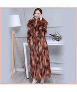 Long Shaggy Mongolian Tibetan Lambs Warm Curley Long Hair Faux Fur Over ... - $487.95