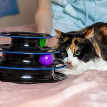 P-09 Cat Toys Interactive with 3-Level Tower Ball Cat Charmer for Play &... - $19.90