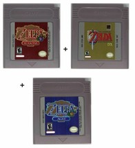 Legend of Zelda: Link's Awakening DX + Oracle of Seasons + Ages Gameboy ... - $26.49