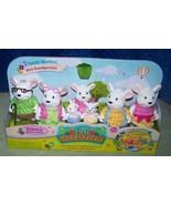 Li'l Woodzeez Nibblekin Mouse Family 7 Family Members New - $19.50