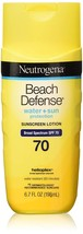 Neutrogena Beach Defense Water Resistant Sunscreen Body Lotion - $15.80