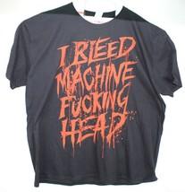 Machine Head i Bleed a la Muerte Negro de Hombre Camiseta Nueva Talla 3XL - $18.51