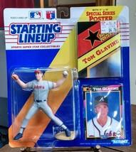 1992 TOM GLAVINE Atlanta Braves HOF Rookie  Starting Lineup b55 - $7.84