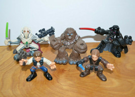 STAR WARS GALACTIC HEROES Action Figure Lot General Grievous Darth Vader... - $17.51