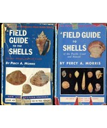 Lot 2 Field Guide to Shells Atlantic 1951 2nd & Gulf / Pacific & Hawaii ... - $24.00