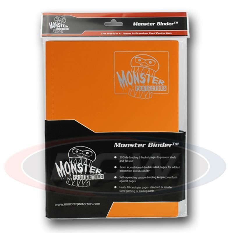 9 POCKET MONSTER BINDER - MATTE ORANGE