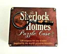 The Sherlock Holmes Puzzle Case Game 120 Enigmas to Solve NEW SEALED - $8.99