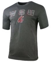 Mens Colosseum Gray Washington State University Cougars NCAA WSU Tee MSR... - $18.99
