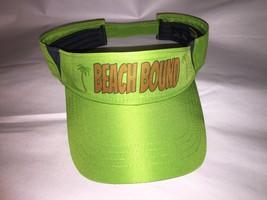Beautiful Unisex Adjustable BEACH BOUND Tropical Visor new - $16.10