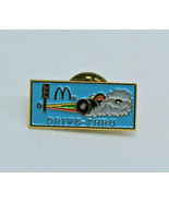 McDonalds Restaurant Drive Thru Employee Collectible Logo Pinback Pin Bu... - $16.15