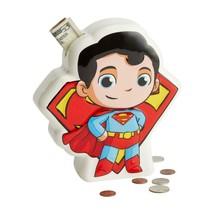 DC Super Friends Superman Coin Money Bank Durable Dolomite