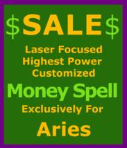 6x100 Sale Wealth Spell Billionaire Custom Ritual 4 Aries Betweenallworlds - $129.50