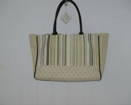 Grasslands Road Baby Its You Product Number 462441 Large Canvas Tote Stripped image 2