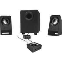 Logitech Z213 2.1 Speaker System - 7 W RMS - Desktop - 65 Hz - 20 kHz - $42.17