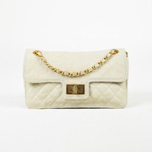 Chanel Spring 2012 Beige Caviar Leather Quilted Flap Bag - $1,905.00