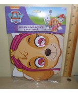 8 Paw Patrol Paper Masks ~ for Party or Playing ~ 3 Skye, 2 Rubble, 3 Ev... - $7.87
