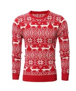 Hot Selling !Mens Sweaters Deer Pattern Fashion Style Solid Color Men's ... - $40.40