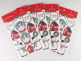 4 packs (240) Xmas Christmas Gift Tags Presents Wrapping Peel and Stick To From