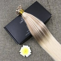 Full Shine 20 inch 50 Strand 50gram U Tip Extensions Remey Human Hair Fusion Hum image 6