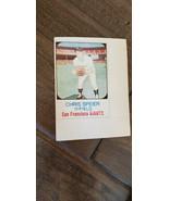 1975 HOSTESS TWINKIES FULL UNCUT CARD CHRIS SPEIER GIANTS EXPOS TWINS # 73 - $7.99