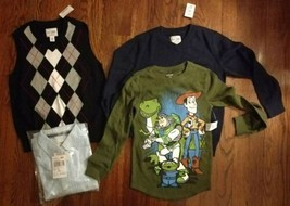 4 boys size small 5/6 shirts NWT Children's Place Disney - $23.76
